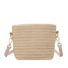 Classical/Vintga/Commuting/Bohemian Style/Braided Crossbody Bags/Shoulder Bags/Beach Bags/Bucket Bags/Hobo Bags
