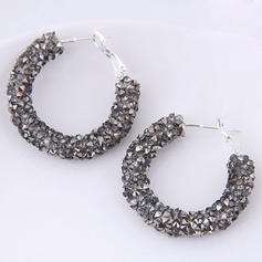 Fashionable Alloy Resin Ladies' Earrings