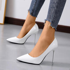 Women's Leatherette Stiletto Heel Pointed Toe shoes