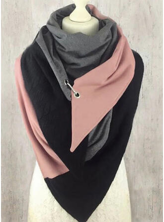 Solid Color/Stitching fashion/Comfortable Scarf