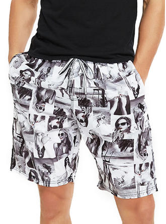 Men's Print Board Shorts