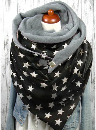 Geometric Print Oversized/fashion Scarf