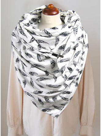 Print/Leaves fashion/Comfortable Scarf